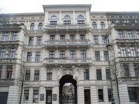 Riehmers Hofgarten, Fassade in der Yorckstraße