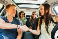 "Begrüßung bei Fahrtbeginn mit BlaBlaCar. Bild: ""obs/BlaBlaCar"""