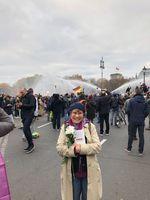 Friedliche Demonstranten die gegen das Infektionsschutzgesetz am 18.11.2020 protestierten wurden mit Waffengewalt bekämpft.