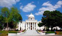 Capitol Gebäude in Mongomery, Bundesstaat Alabama (USA)