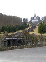 Kasseler Bergpark Wilhelmshöhe: Wasserspiele, die Kupferstatue Herkules Bild: ExtremNews