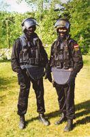 Zwei Mitglieder der österreichischen Antiterror-Spezialeinheit Einsatzkommando Cobra.