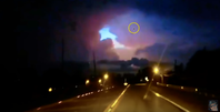"""Bild: Screenshot aus dem YouTube-Video """"""""Out of This World"""" Portal Appears in Sky during Electrical Storm - Something is Watching It!"""""""
