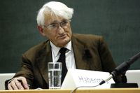 Jürgen Habermas (2007), Archivbild