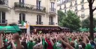 "Bild: Screenshot Youtube Video ""Best of Irish fans at Euro 2016 (Funny) """