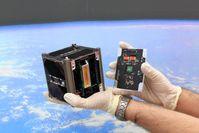 Der Würzburger Uni-Satellit UWE-3 ist schon ein Jahr im Weltraum und funktioniert immer noch. Quelle: (Foto: Lehrstuhl für Informatik VII) (idw)