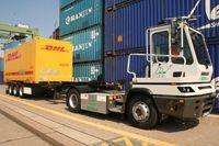 Vom Berliner Westhafen aus wird der E-LKW Abnehmer in ganz Berlin versorgen. Quelle: TH Wildau / Bernd Schlütter (idw)