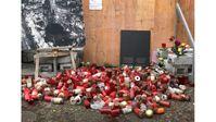 Gedenkstätt an islamistischen Terroranschlag auf Berliner Breitscheidplatz im November 2017