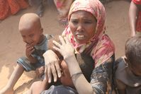 Somalische Flüchtlinge in Dadaab, Kenia