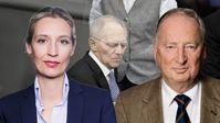 Alice Weidel und Alexander Gauland, Vorsitzende der AfD-Bundestagsfraktion