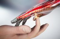Elektronische Hand: aber nur ein Prototyp.
