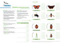 Zählhilfe für den Insektensommer - Foto: NABU