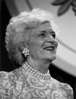 Barbara Bush, 1989