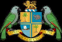 Wappen von Dominica (amtlich Commonwealth Dominica)