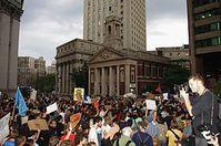 Die Demonstration am 30. September 2011. Bild: David Shankbone / wikipedia.org