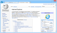 Internet Explorer 11 unter Windows 8.1