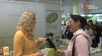 "Screenshot aus dem Youtube Video "" ExtremNews besucht die VeggieWorld 2013"""