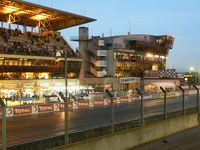 Boxenbereich von Le Mans