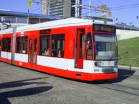 Straßenbahn in Halle (Symbolbild)
