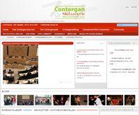 Internetseite de Contergan Netzwerkes