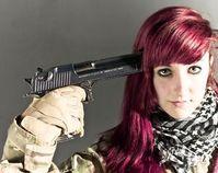 Waffe am Kopf Bild: flickr.com/n4i