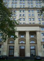 Der Sitz der Föderalen Atomagentur (Rosatom) in Moskau