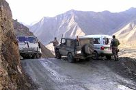Gegenverkehr Bild: PIZ Kunduz