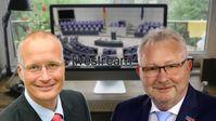 Jörn König und Andreas Mrosek, MdB, Abgeordnete der AfD-Bundestagsfraktion (2018)