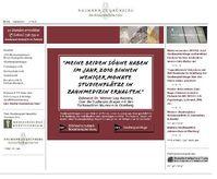 Webseite www.uni-recht.de