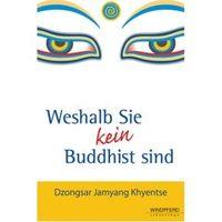 """Buchcover """"Weshalb Sie kein Buddhist sind"""" von D.J. Khyentse"""