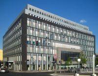 Das Gebäude der Bundespressekonferenz in Berlin