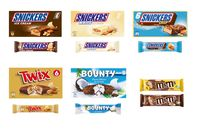 ProduktrückrufBetroffen sind bestimmte EISCREME-PRODUKTE der Marken SNICKERS®, BOUNTY®, TWIX® und M&M'S®  Bild: Mars GmbH Fotograf: Mars Wrigley