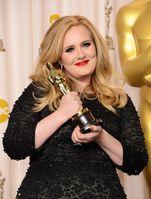 Adele bei der Oscar Verleihung 2013 Bild: Jason Merritt - wikipedia.org