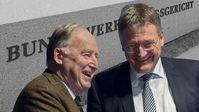 Gauland/Meuthen: Gott sei Dank gibt es noch Richter in Karlsruhe