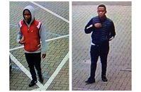 Die beiden Täter Bild: Polizei