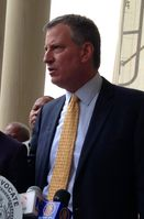 Bill de Blasio Bild: The office of Public Advocate for the City of New York - wikipedia.org