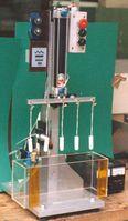 Tampon-Tauchgerät zum Prüfen des Entspiralisierungsvorgangs