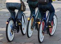 Radfahrer: sind signifikant leichter als Autofahrer. Bild: pixelio.de/Sokaeiko