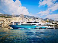 Yacht GO am Steg in Monaco  Bild: MS Partyboot Deutschland GmbH Fotograf: Captain Franky