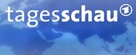 Logo der Nachrichtensendung Tagesschau. Bild: ARD Das Erste