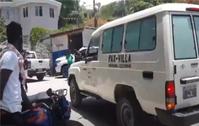 Der Leichnam von Jovenel Moïse wird aus seiner Privatresidenz in Petion-Ville abtransportiert
