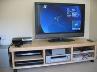 Flachbildschirm als Fernseher