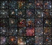 Bildergalerie mit einigen der neu entdeckten offenen Sternhaufen Bilder: ESO/J. Borissova