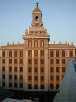 Edificio Bacardi, ehemaliges Firmengebäude in Havanna, Kuba