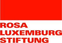 Logo of Rosa Luxemburg Foundation (German version)