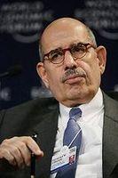 Mohammed el-Baradei Bild: World Economic Forum