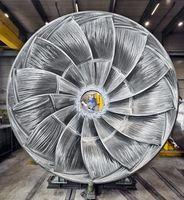 """Das PR-Bild des Jahres 2014: """"Voith Francis-Turbine"""", eingereicht vom Technologiekonzern Voith. Bild: """"obs/Voith GmbH/Marius Hoefinger"""""""