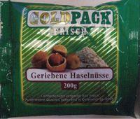 Goldpack Frisch geriebene Haselnüsse 200g