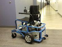"""""""PneuChair"""": Dieser Rollstuhl kommt auch mit Wasser klar. Bild: herl.pitt.edu"""