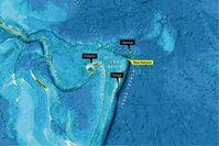 Das Hydrothermalfeld am Niua-South-Vulkan liegt im Lau-Becken zwischen Fidschi und Samoa.